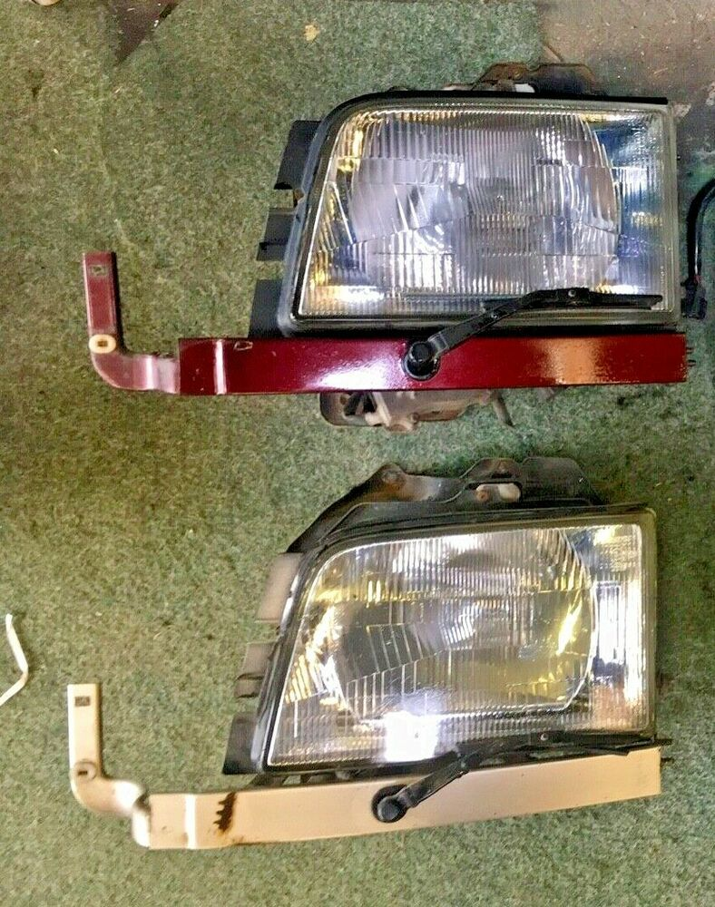 Details About Isuzu Trooper Mk4 Headlight Penger Side Nsf Rhd With Wiper