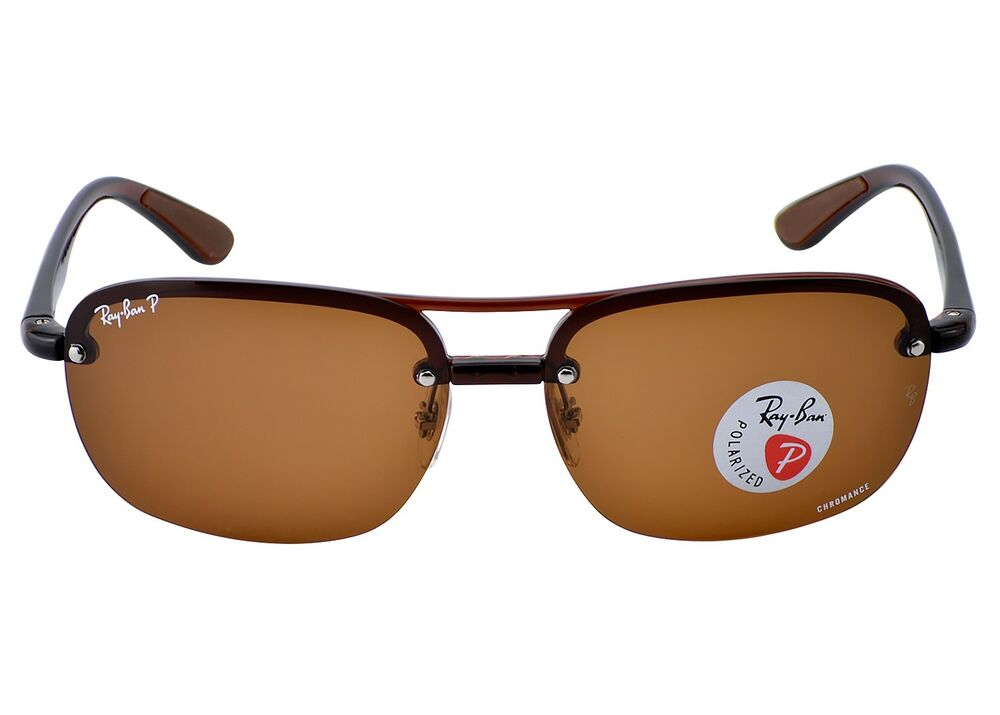 c091990a7a Details about Ray-Ban RB4275CH 894 A2 Tortoise Frame Polarized Brown Mirror  Chromance 63mm