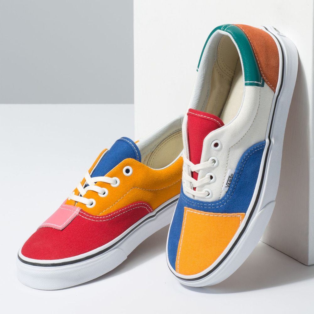 f5234421ae Details about Vans Patchwork Era Mulitcolor Men s Sz 9