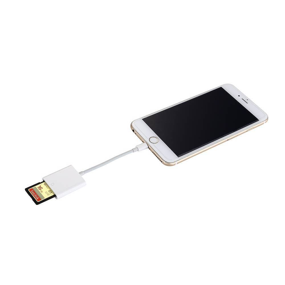 quality design bbb45 ffee2 Lightning to SD Card Camera Reader Adapter for iPhone X 8 7 6 6s iPad Air  Mini | eBay