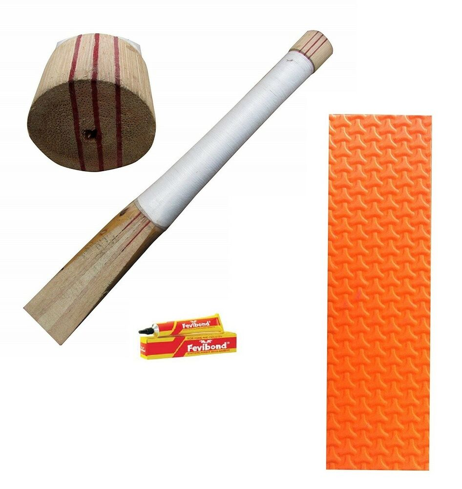 Details About Good Finished Cricket Bat Handle Toe Care Replacement Accessories Kit For