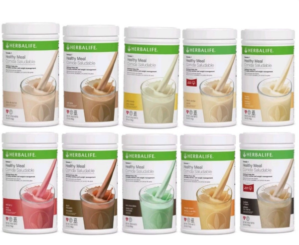 Herbalife Healthy Meal Nutritional Shake Mix: Pralines and Cream 750 g fist ship