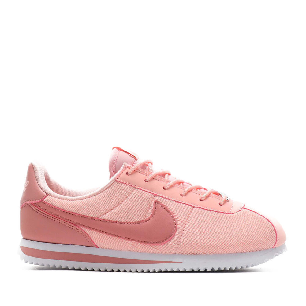 the latest 0938f b803f Details about Nike Cortez Basic Txt Lx (Gs) Storm Pink Trainers  Size UK-4.5 5 5.5