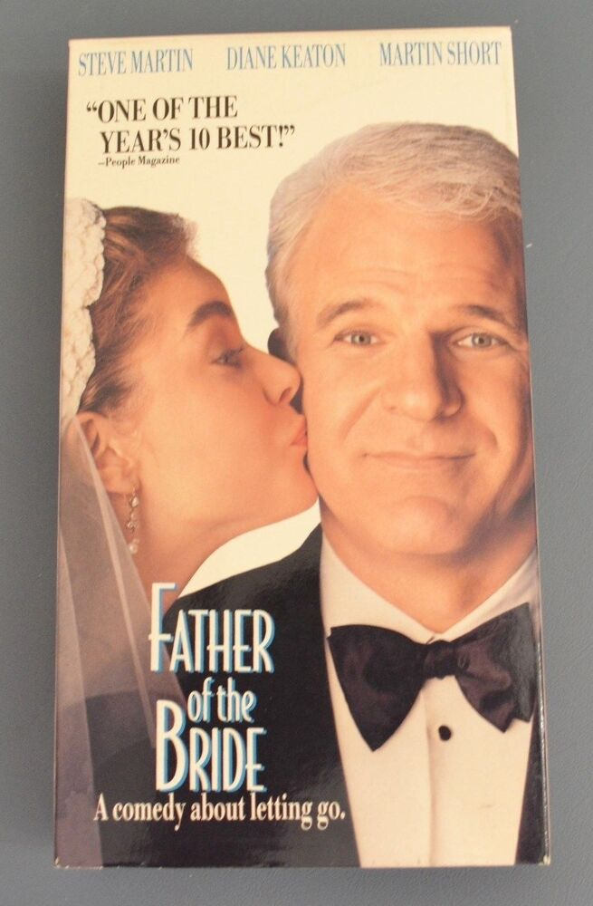 Father Of The Bride Steve Martin Diane Keaton Martin Short Vhs
