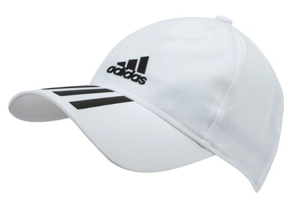 84cd227c Details about Adidas Men C40 6P Climalite Caps Running Hat White UPF 50+  Sports Hat Cap DT8544