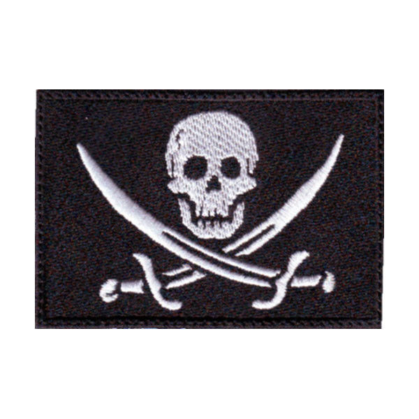 Pirate (A) Flag Embroidered Patch