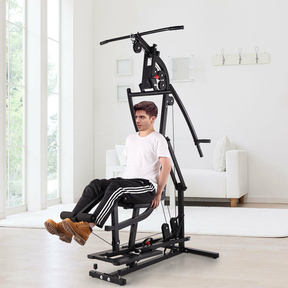 Weider 2980 Home Gym Exercises: Home Gym Weight Training Exercise Workout Equipment