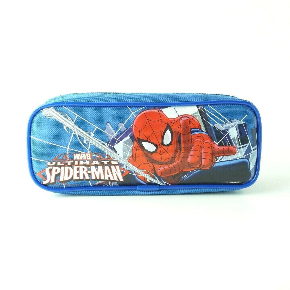 a870682c9c60 Details about Marvel Spiderman School Pencil Case Boys Kids Toddlers Zipper  Small Pouch