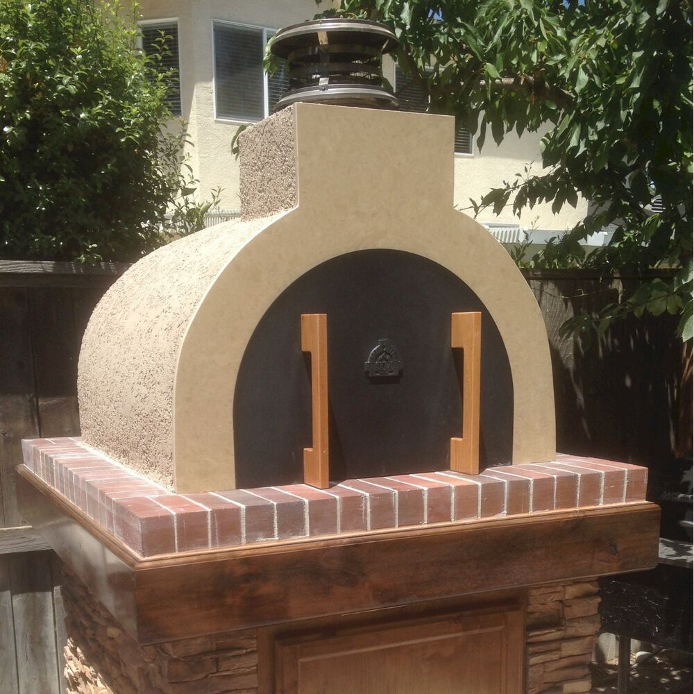 Wood Fired Pizza Oven • DIY Outdoor Fireplace - Get Both w ...