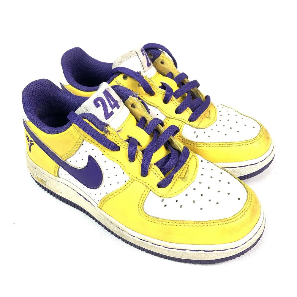2a20854d814 Details about Nike Air Force 1 Low Top Shoes - 2009 - Kobe Bryant   314193-151  Boy s Size 13C
