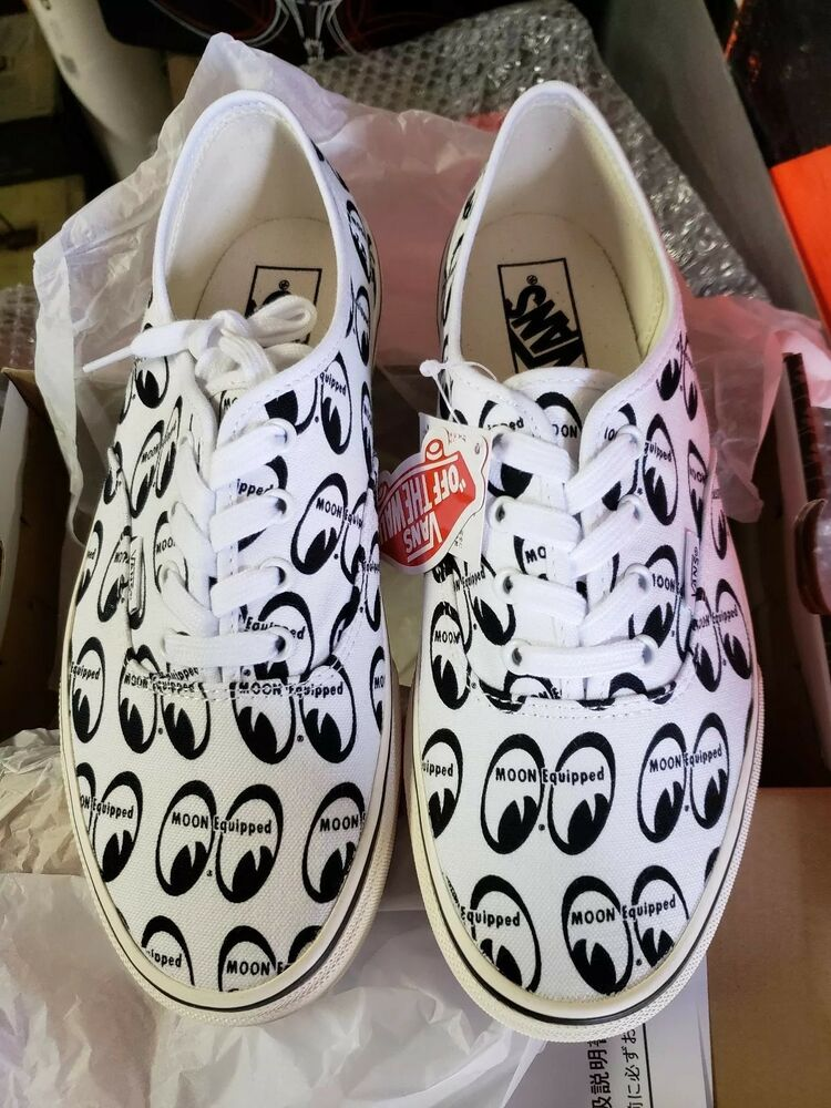 fcc0444da8d237 Details about VANS × MOONEYES SNEAKERS SHOES HOT ROD SHOP SIZE 6 NEW IN BOX  RARE - ratfink