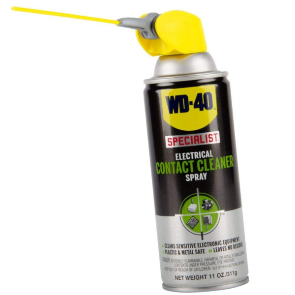 WD 40 Electrical Contact Cleaner Spray Circuit Board Car Electronics Connection