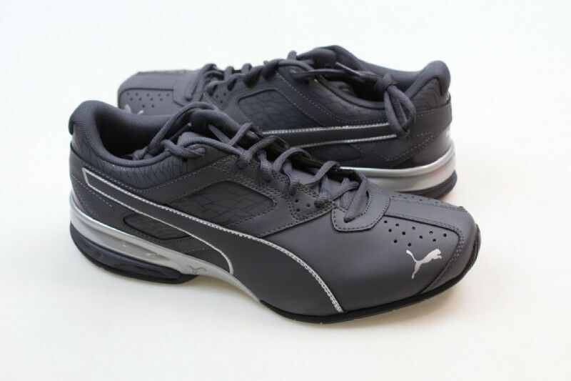 0cfe0846732e Details about NEW Men s Puma Tazon 6 Fracture Cross Training Shoe Periscope  Silver Size 9