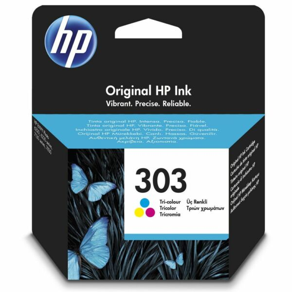 T6N01AE CARTUCCIA ORIGINALE COLORE HP N.303 ENVY PHOTO 6230 7130 7830 6220 7134