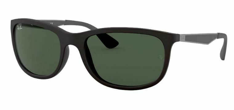 58acde3224 Details about NEW RAY BAN SQUARE SHINE MATTE BLACK GREEN GRADIENT SUNGLASSES  RB 4267 601 71