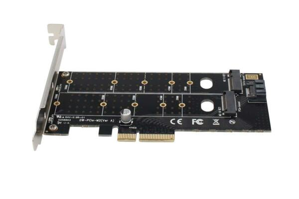 SCHEDA M.2 NVMe PCIE SSD to PCI Express