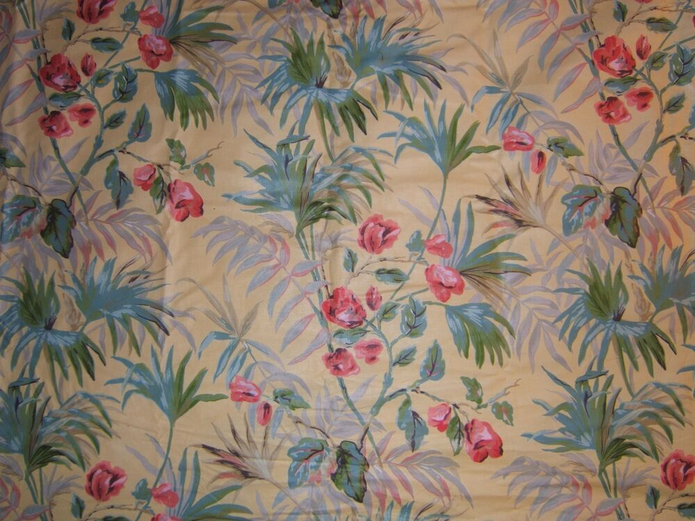 Fonthill Ltd Albany Chintz Vintage Tropical Floral Bty Color Multi