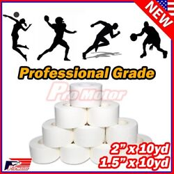 Premium Athletic Sport Tape Mortar Joint Muscles Care Support Wrap 1.5'' 2'' 10YD
