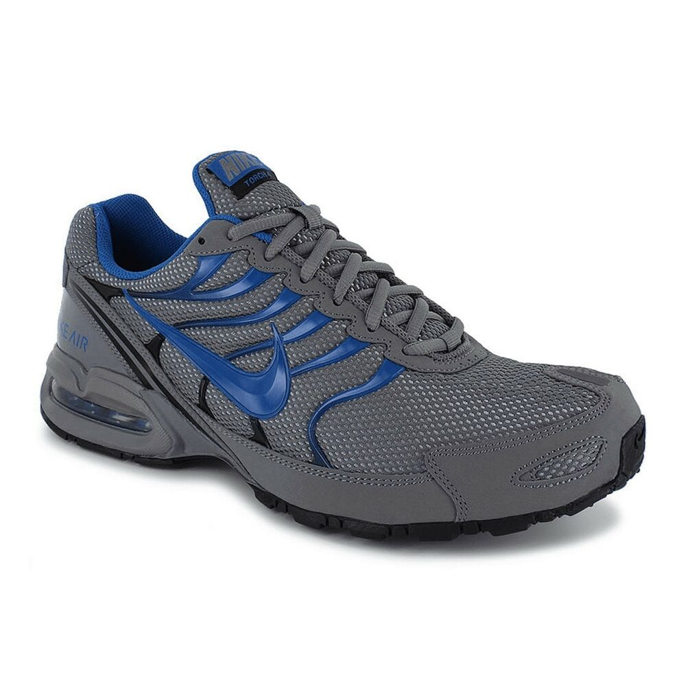52141362d18 Details about Nike Air Max Torch 4 Grey Blue Black 343846 009 Running Shoes  Men s Size 8.5