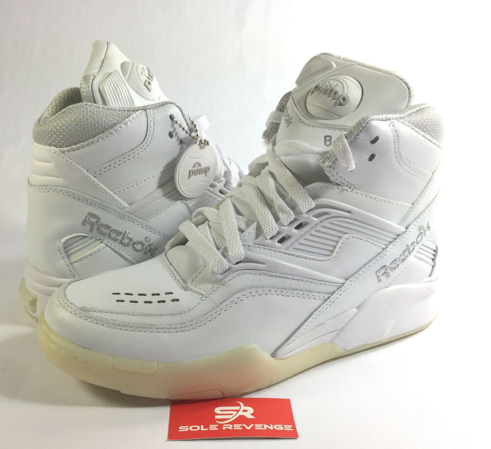 46d86c51f660 Details about 7 Reebok Twilight Zone The Pump - V53854 (white   pure  silver) Dominique Wilkins. Popular Item 1 watched in ...