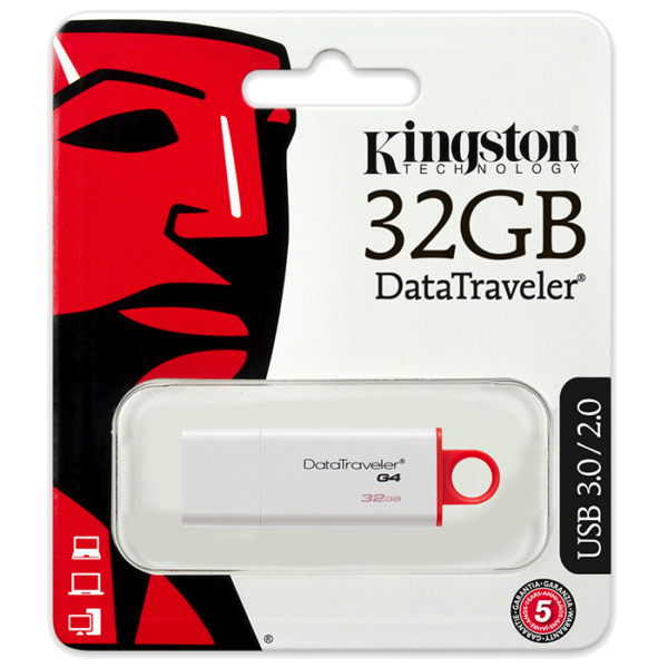 Pen Drive Kingston DTIG4 / 32 GB DataTraveler Pennetta USB 3.0 2.0 Flash Drive
