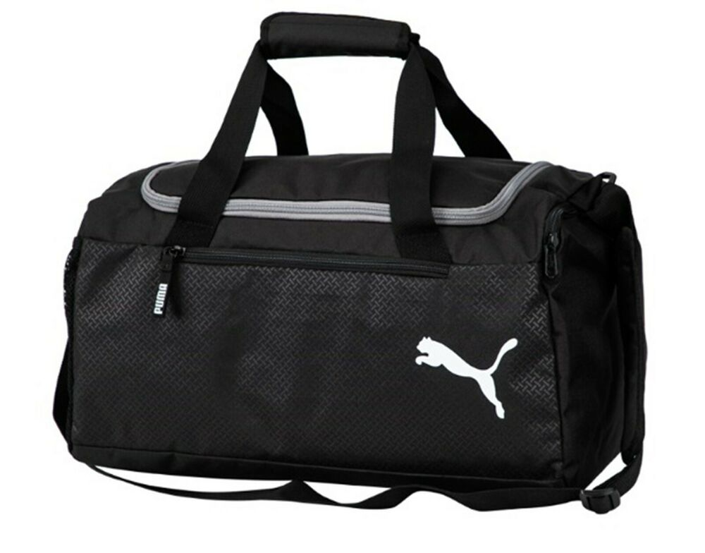 Details about Puma Fundamental Small Training Duffel Bags Running Black GYM  Bag Sacks 07552701 d3915f4140099