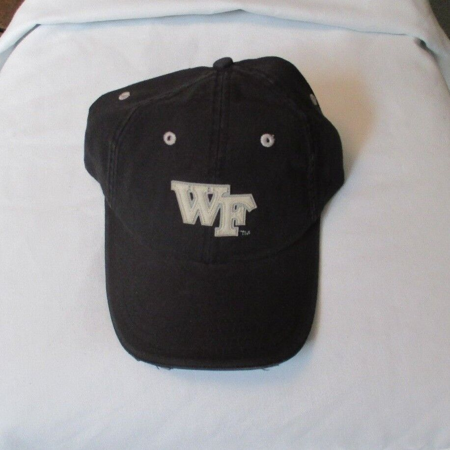 fc455003755 ... low price details about wake forest demon deacons ncaa adult adjustable  strap black cap hat carolina