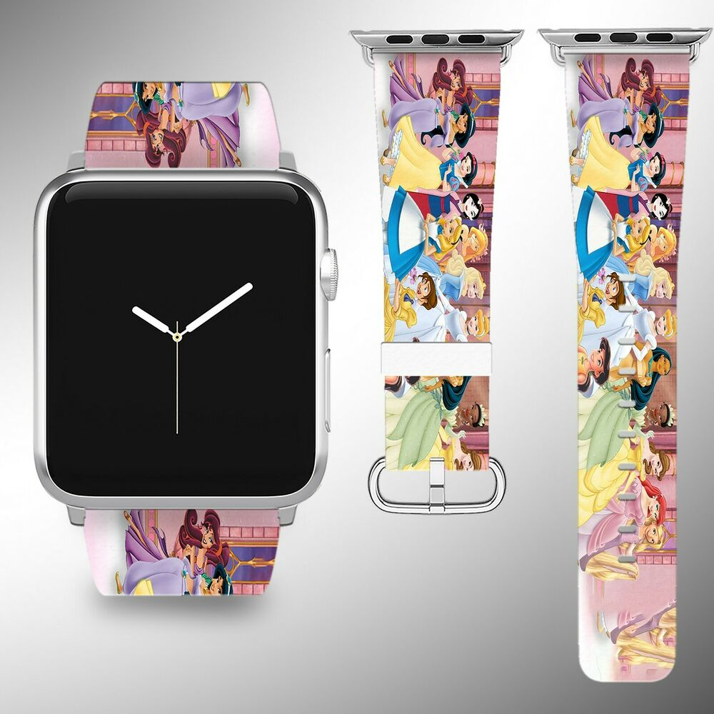 Disney Princess Apple Watch Band 38 40 42 44 mm Series 1 2