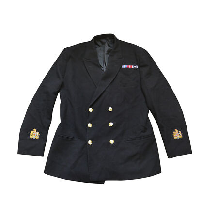 img-Genuine British Army Royal Navy Class I No 1 1B Jacket RN Dress Double Breasted