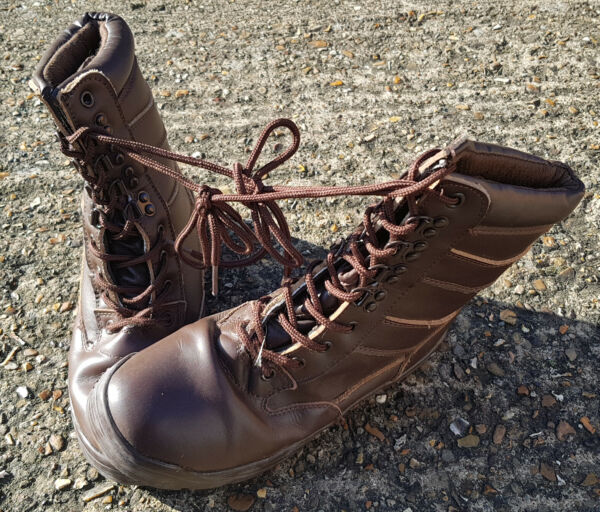 All Leather Patrol Boots - Used Grade B