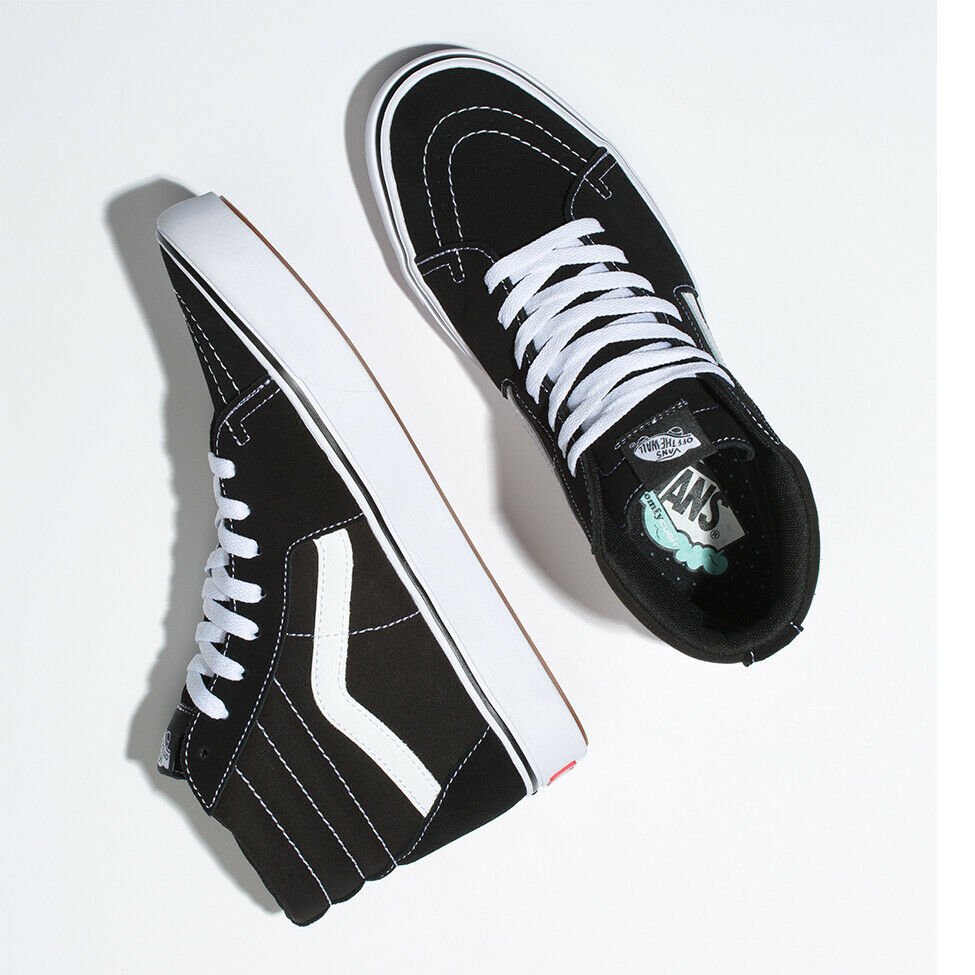 3bc6eeb005 Details about Vans Comfycush SK8-Hi Sneakers Original Shoes Black  VN0A3WMBVNE US Size 4-13