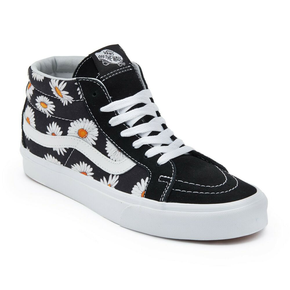 267abd650d Details about Vans Big Daisy Sk8-Hi Reissue High Skate Sneakers Shoes  VN0A391FTOZ Size US 4-13