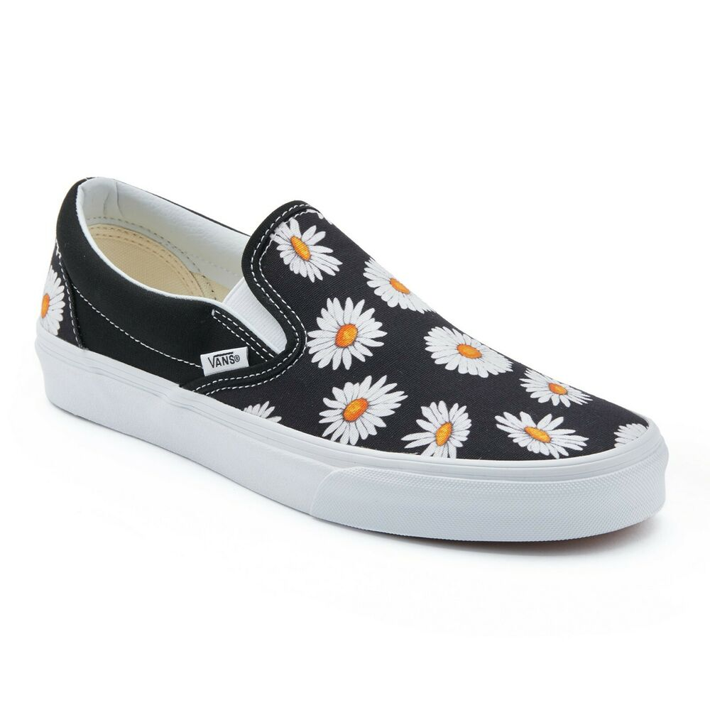 baa283e96b Details about Vans Big Daisy Slip-On Skate Sneakers Original Shoes  VN0A38F7TOZ Size US 4-13