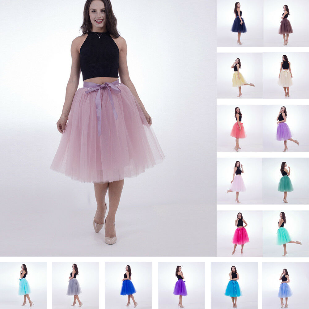 33c787859 Knee Length Tulle Skirts