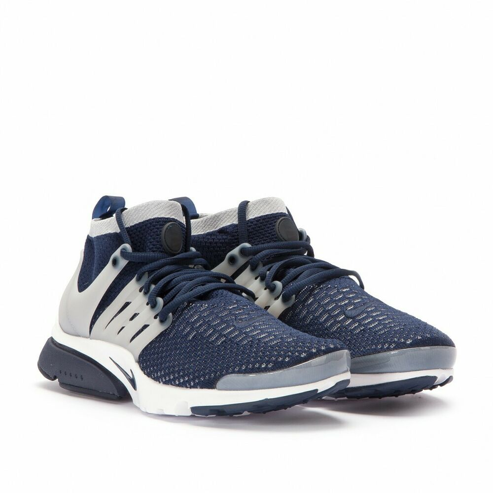 84aa229d6fde Details about Nike Air Presto Flyknit Ultra 835570-402 COLLEGE NAVY SIZE  11.5 NEW DS
