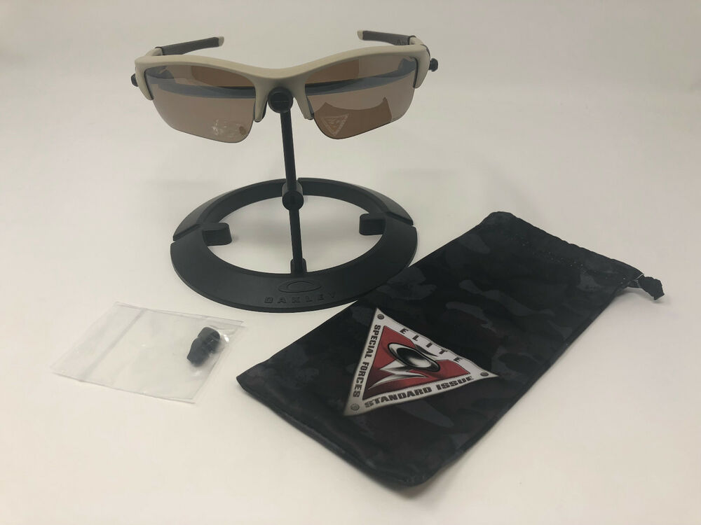 45384c0add Details about Oakley SI Flak Jacket XLJ 53-100 Desert   Bronze Polarized  Lens