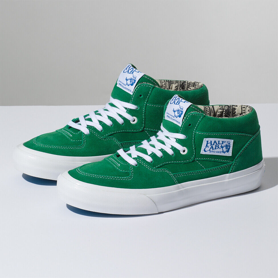 86317026a8 Details about Vans Ray Barbee Half Cap Pro Sneakers Shoes Green VN0A38CPU1R Size  US 4-13