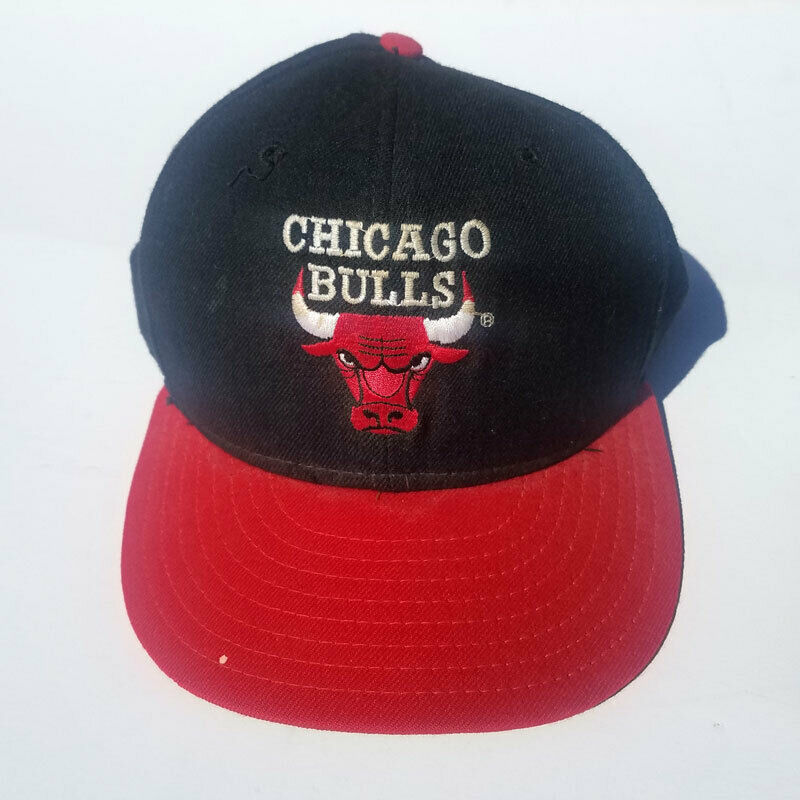221c9490520 Details about Vintage New Era NBA Chicago BULLS Fitted Hats Size 7 1 8