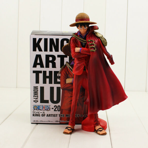One Piece Monkey D Luffy Figure Toy King of Artist 20th Anniversary Luffy 25cm