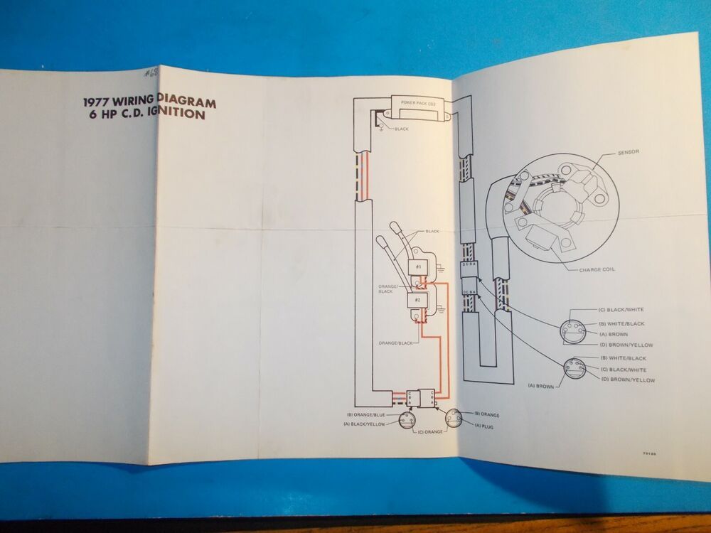 Diagram 1977 Johnson Outboard Motors 6 Hp C D Ignition Wiring Diagram