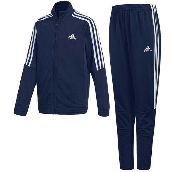 328036a5 Details about adidas boys navy Tiro tracksuit. Jogging suit. Warm up suit.  Various sizes!