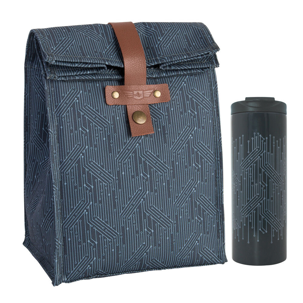 'circuit' Elliot Lunch Bagamp; Travel Insulated MugEbay Beau Matching Blue dCexoB