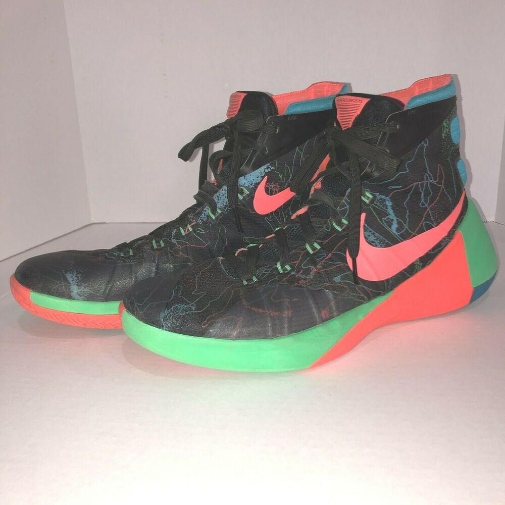 best website 46309 484f3 Details about Nike Hyperdunk 2015 PRM Mens Size 11 High Top Basketball Shoes  749567-084 45 EUR