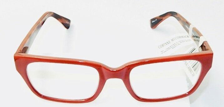 d31e1c64264a Details about CORINNE McCORMACK SYDNEY RED READING GLASSES +2.50 - BRAND  NEW WITH TAG
