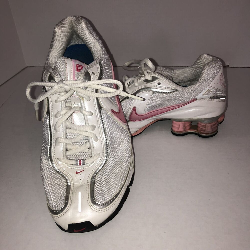 premium selection eee43 bf0f1 Details about NIKE SHOX Zoom Experience + 2 Running Cross Training Shoes  Womens 7.5 Shocks
