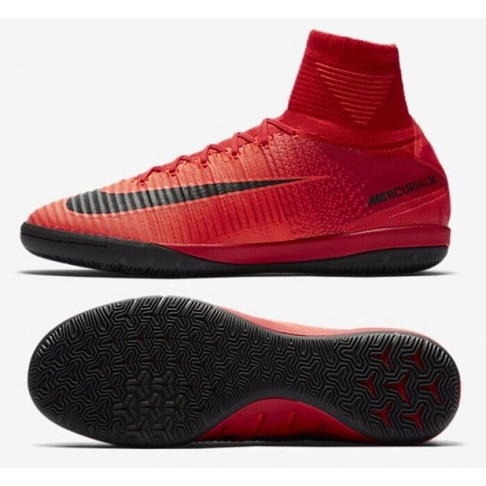 best service cdbb7 b3444 Details about Nike MercurialX Proximo II DF IC 831976-616 Red Black Mns  Indoor Soccer Sz 11.5