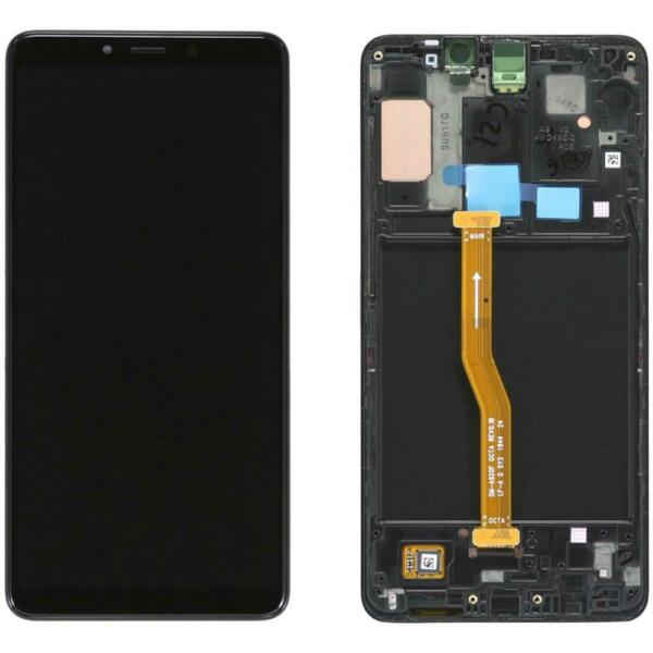 DISPLAY ORIGINALE LCD TOUCH SAMSUNG GALAXY A9 2018 A920F NERO GH82-18308A