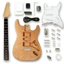 Kyпить DIY  Guitar Kits For ST Electric Guitar, Okoume Body,  на еВаy.соm