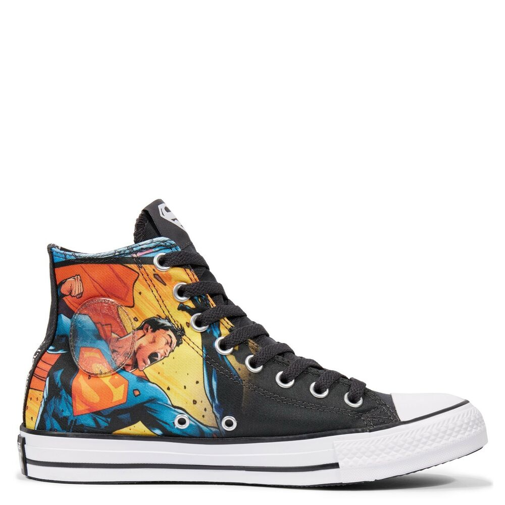 23e87cf08039 Details about Converse Chuck Taylor All Star DC Comics Superman Trainers  Size UK 5