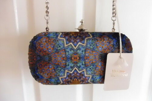 b62b15e683c Details about New! Vivienne Westwood Parma 'Limited Edition' Clutch Handbag!  New with Tags!